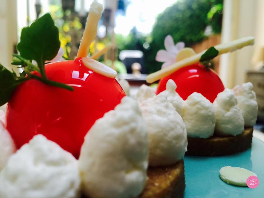 truffes cheesecake