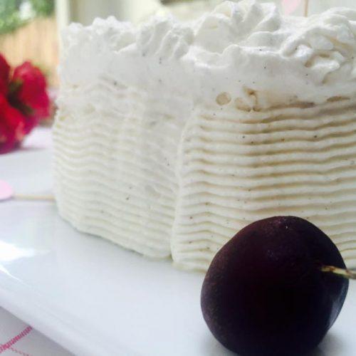vacherin glacé meringue française glace vanille