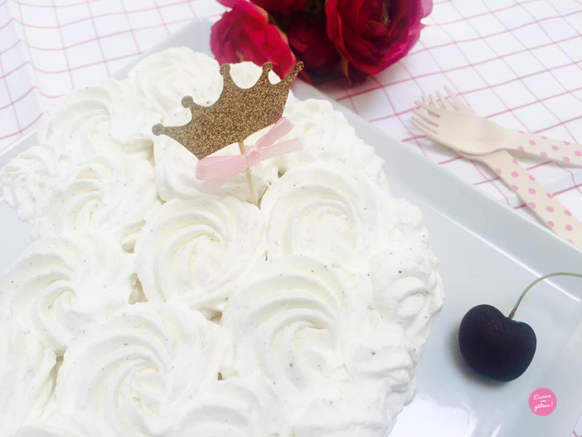 vacherin glacé vanille facile