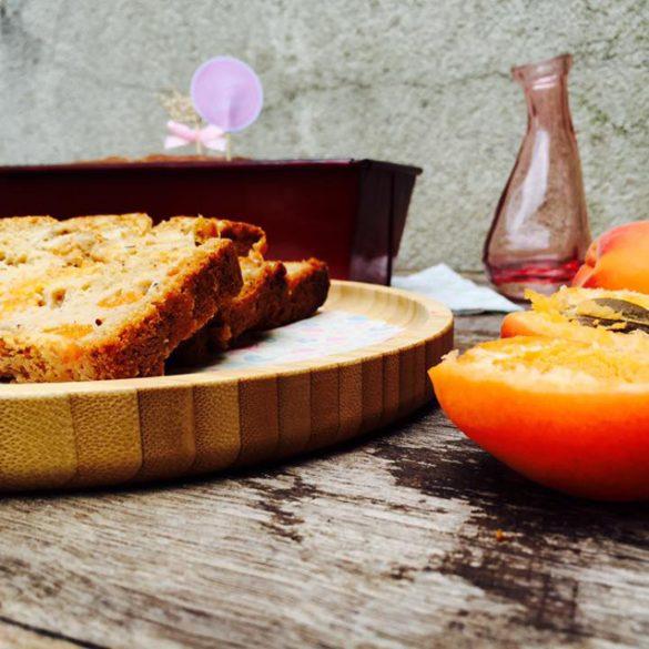cake flocons d'avoine abricots