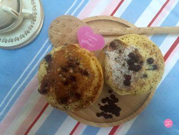 pancakes aux myrtilles recette
