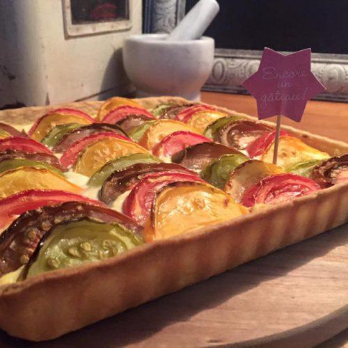 tarte tomate ricotta facile