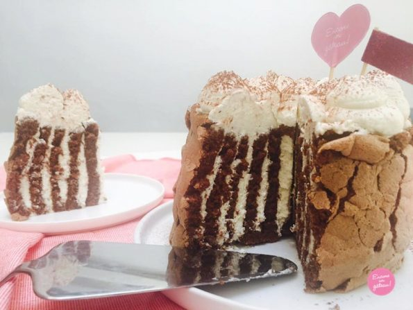gâteau roulé vertical Noël