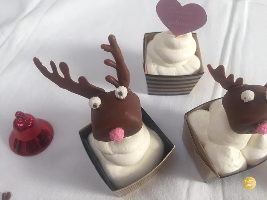 rudolph rennes cupcakes de noel