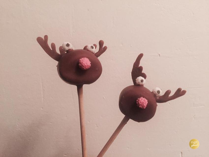rudolph renne cupcakes noel