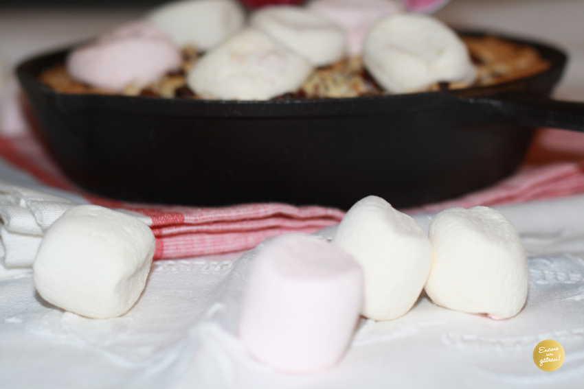 recette facile de cookie géant