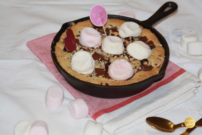 recette de cookie geant