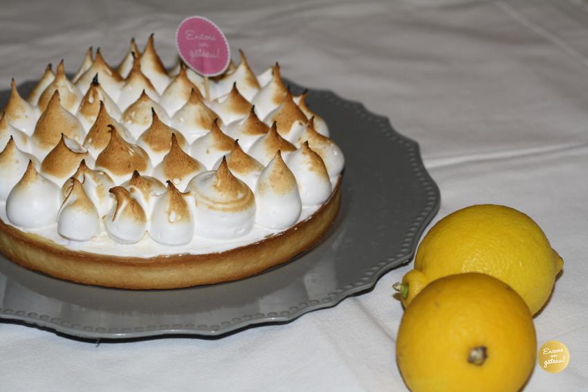 tarte citron meringuee