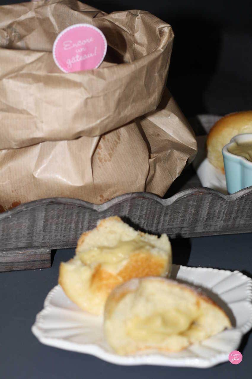 beignets à la compote de pommes