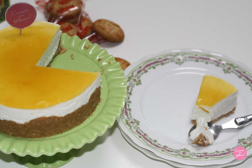 cheesecake citron passion
