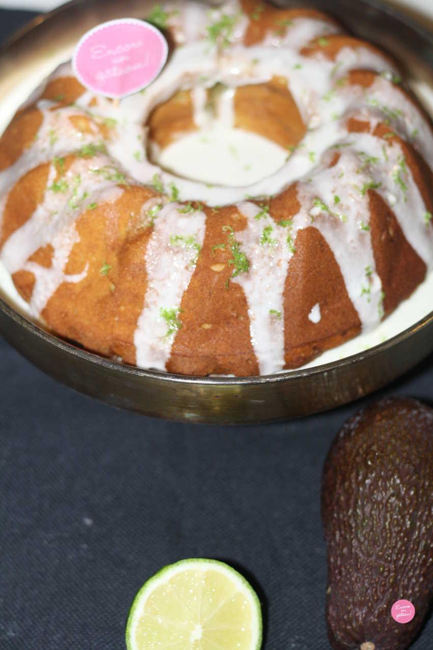 gâteau avocat citron vert
