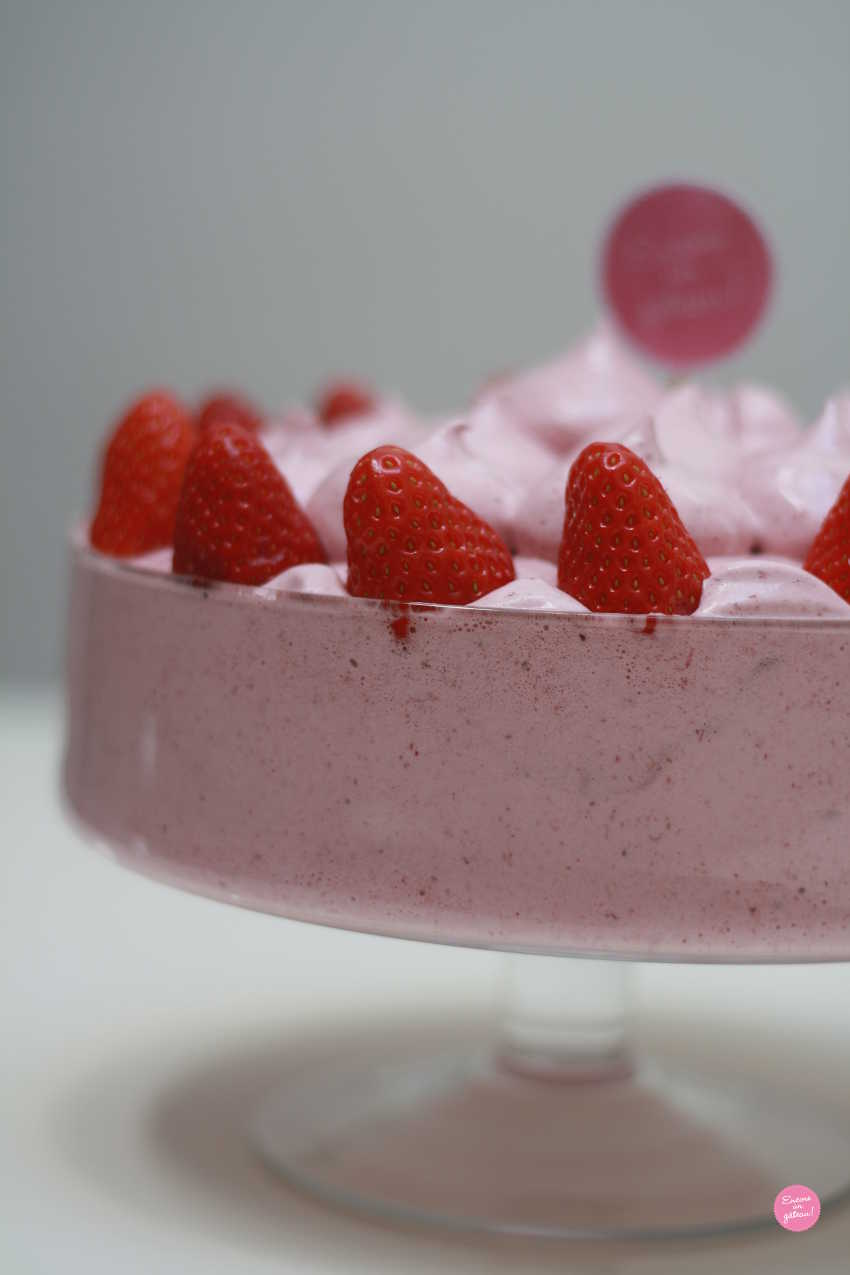 mousse aux fruits rouges