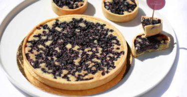 tarte amandine aux myrtilles