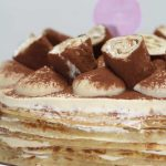 gâteau de crêpes tiramisu