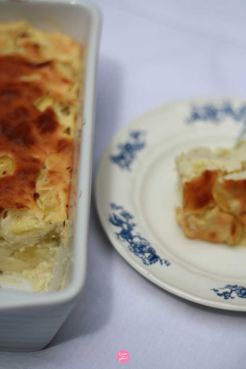 flan courgettes ricotta