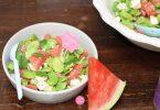 salade fèves pastèque