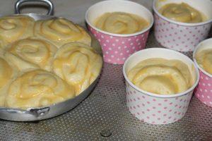 brioche roulée au lemon curd