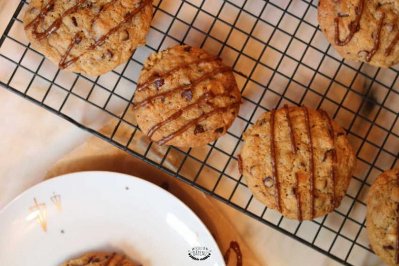 cookies praliné de yann couvreur