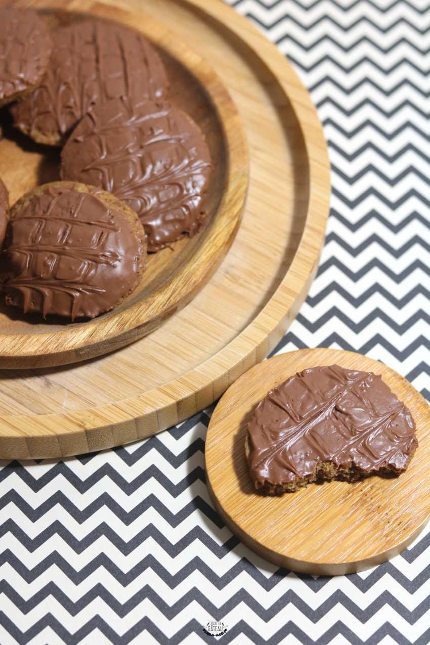 Biscuits au chocolat façon Granola - Recette facile de biscuits maison