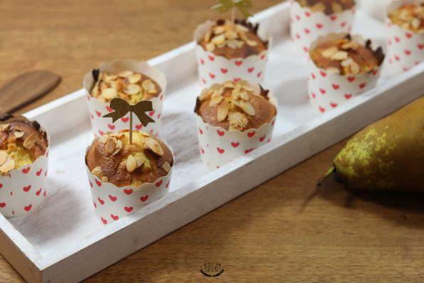 muffins poires amandes