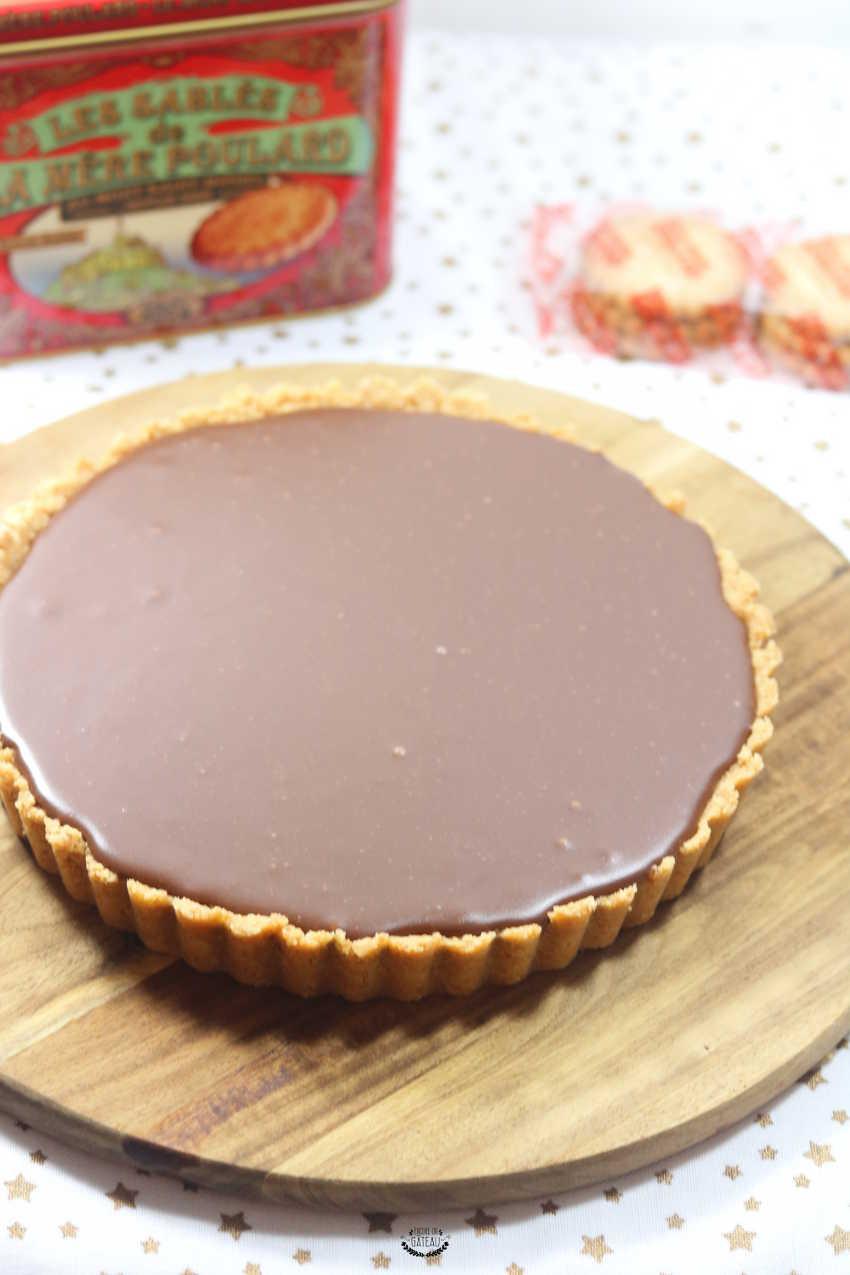 Tarte Confiture De Lait Et Chocolat Recette Sans Cuisson