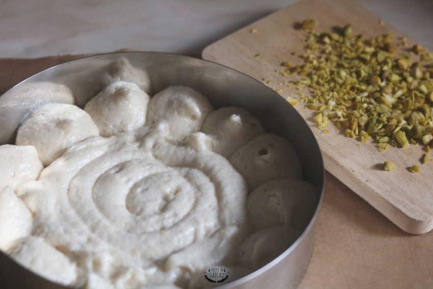 tarte pistache mangue jasmin