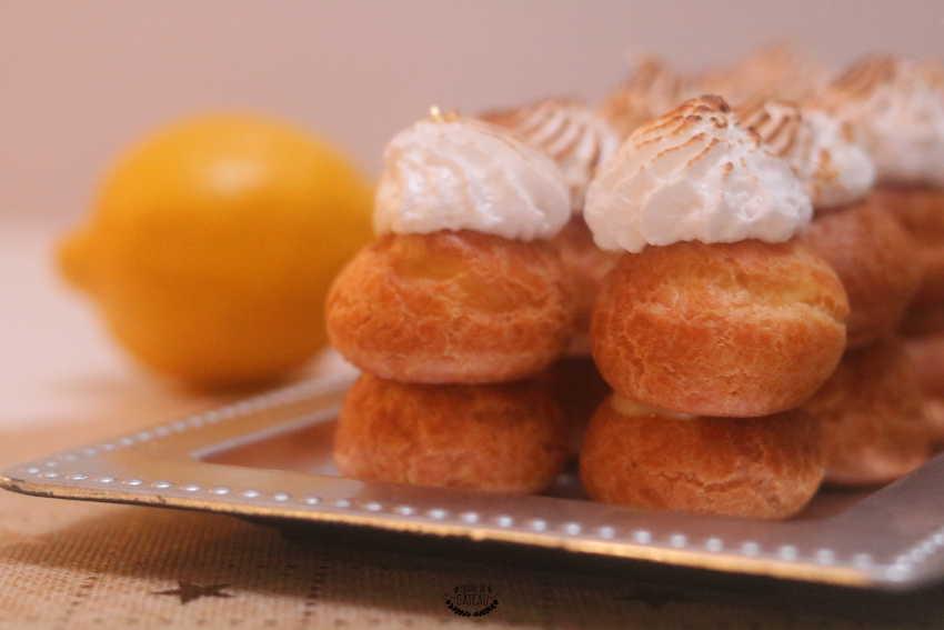 choux citron meringués