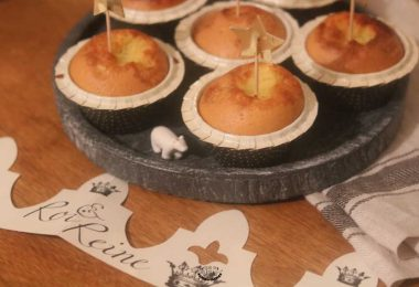 muffins frangipane