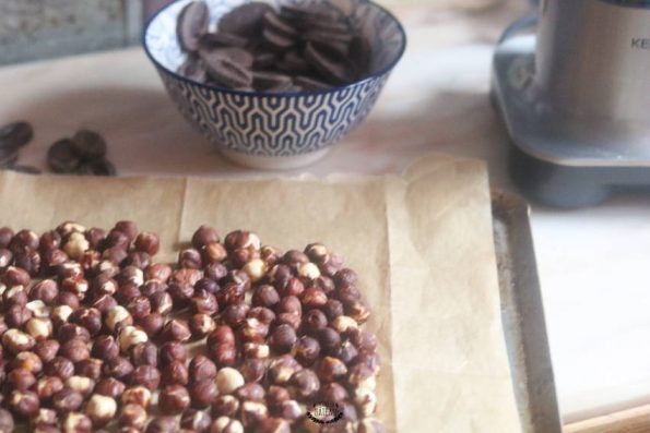 pâte chocolat noisettes
