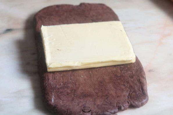 pas à pas feuilletage chocolat