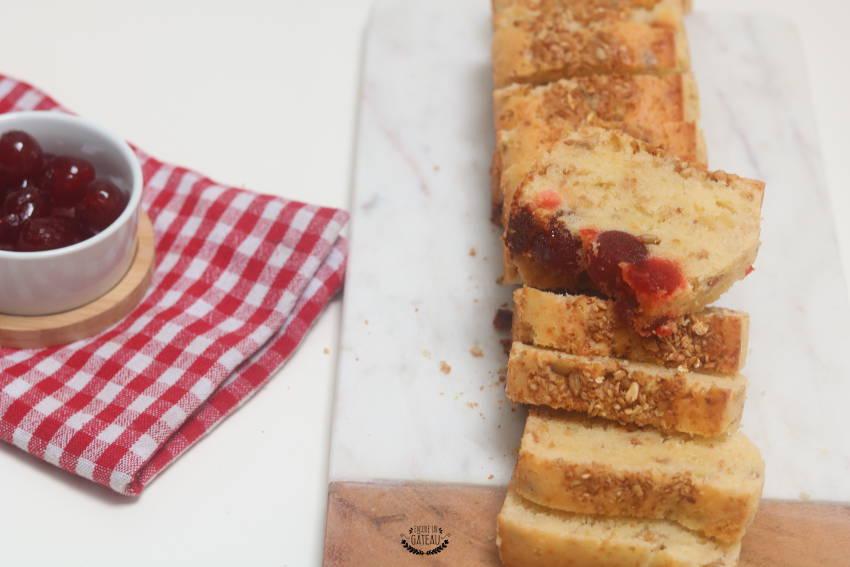 comment faire un cake aux cerises confites