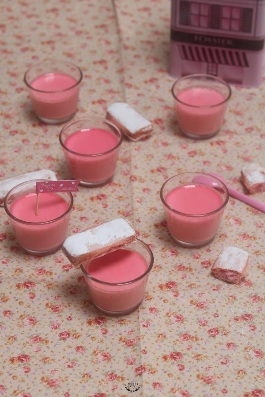 crème à la rose à l'Omnicuiseur vitalité