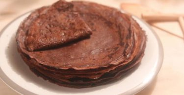 Les crêpes au chocolat de Christophe Michalak