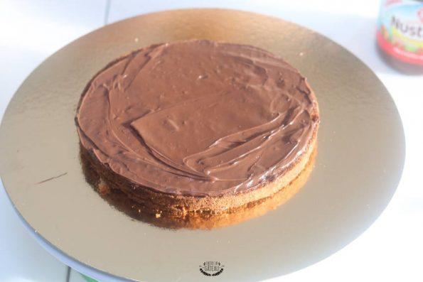 gâteau psg montage