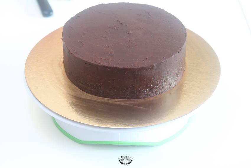 recouvrement gâteau psg