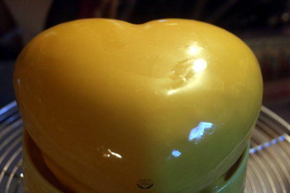 glaçage miroir yellow