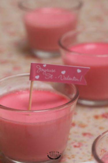 crème à la rose de Ladurée