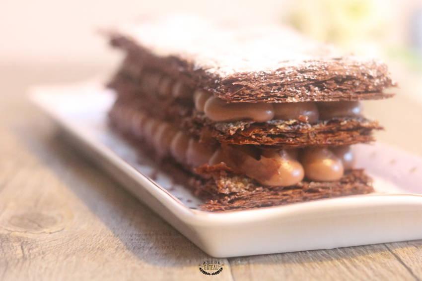 comment faire un millefeuille tout chocolat ?