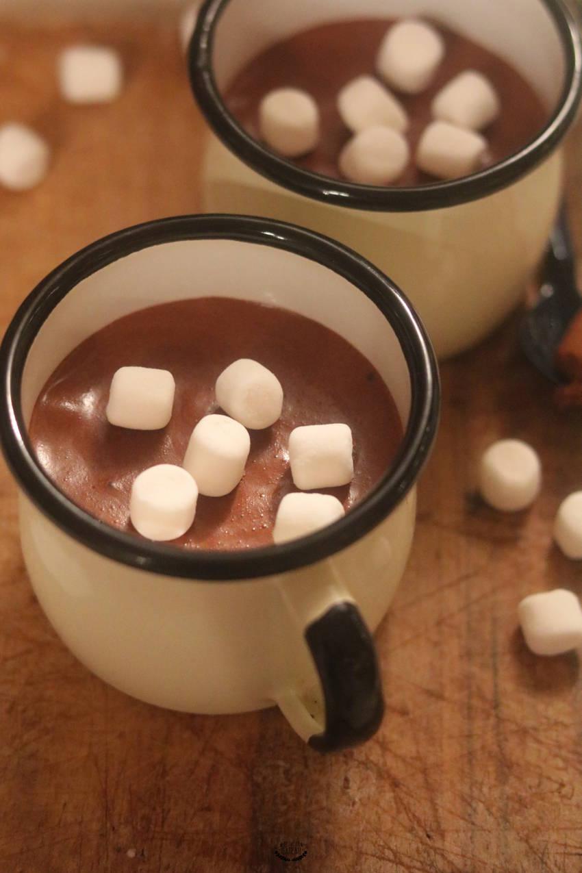 recette de mousse au chocolat facile
