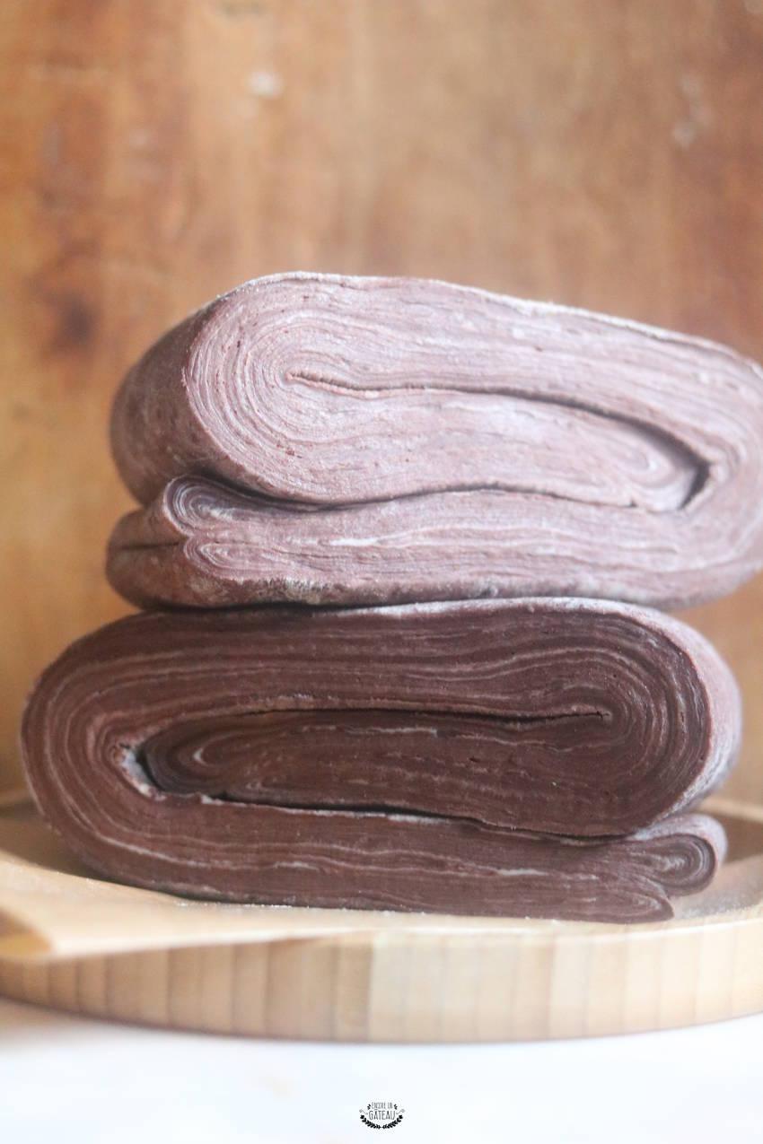 comment faire du feuilletage chocolat ?