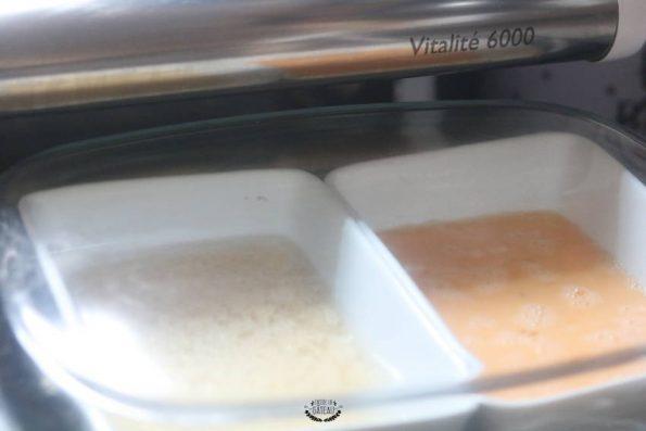 préparation du riz cantonais