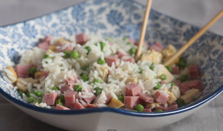 riz cantonais facile