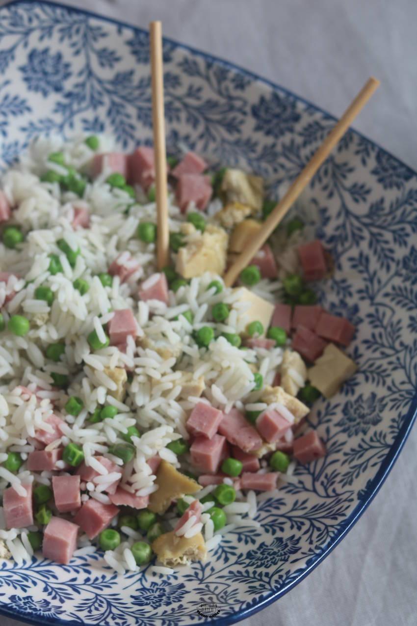 Faire du riz cantonais maison