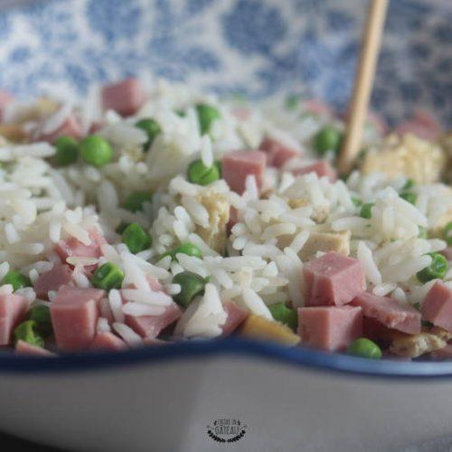 recette facile et rapide de riz cantonais