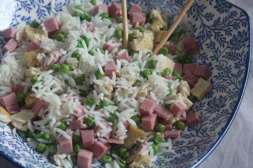 comment faire du riz cantonais ?