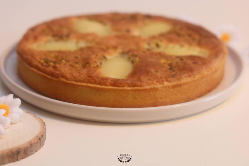 tarte bourdaloue crème d'amandes et poires