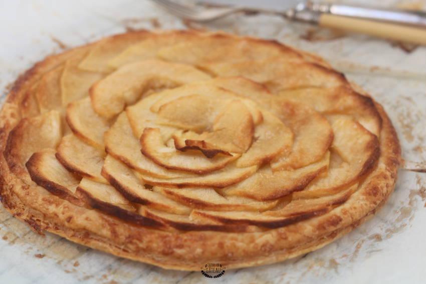 quelle est la recette de la tarte fine aux pommes ?