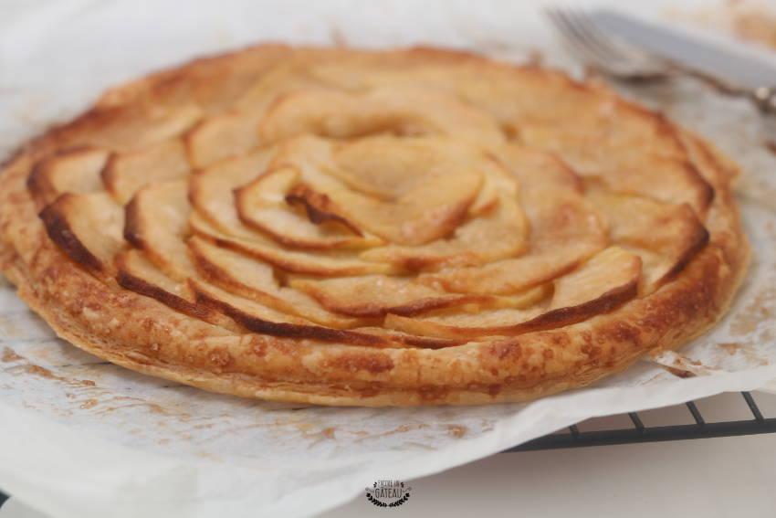 savoir faire une tarte fine aux pommes