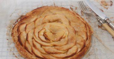 recette facile de tarte fine aux pommes