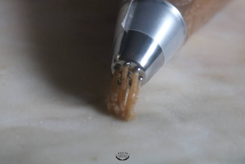 comment faire des vermicelles pour la décoration du mont blanc ?